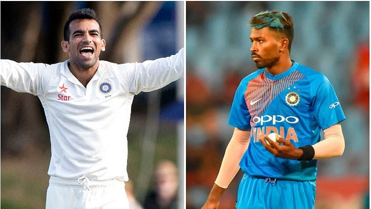 Zaheer Khan has a really witty reply to Hardik Pandya's mocking birthday wish