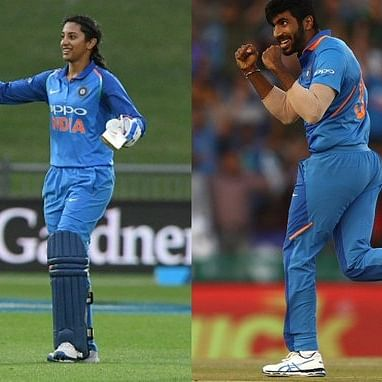 Jasprit Bumrah, Smriti Mandhana win Wisden 'Cricketer of the Year' award
