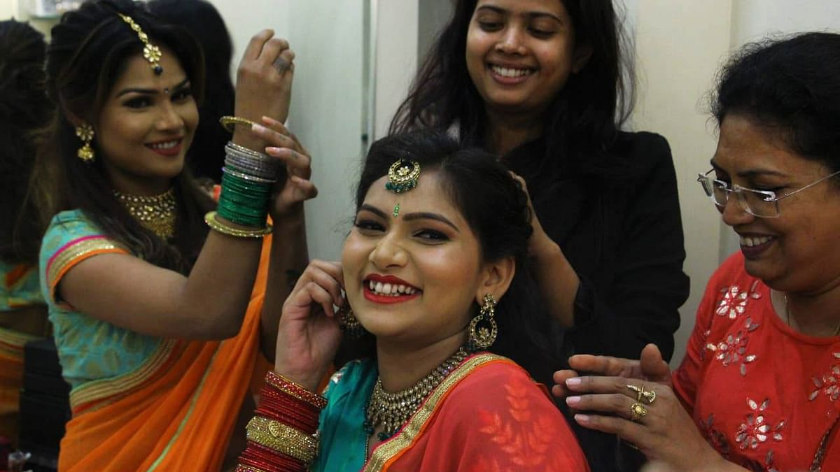 Indore: Roop Chaudas; Time to relax, beautify body