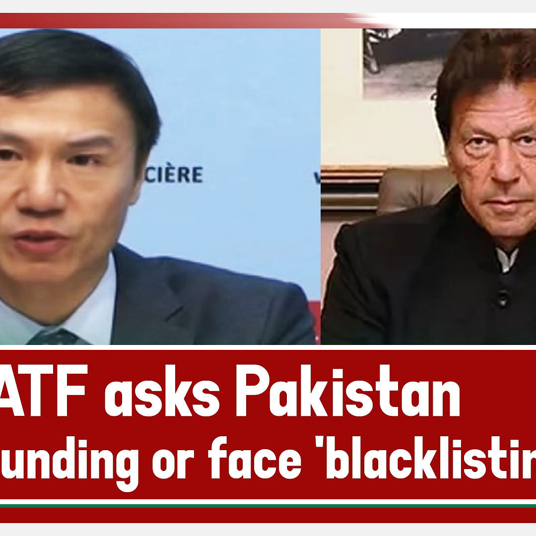 FATF Asks Pakistan To Act Fast Against Terror Funding Or Face 'Blacklisting'