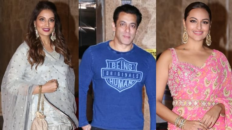 Salman Khan, Sonakshi Sinha and other B-town celebs attend Ramesh Taurani's Diwali bash