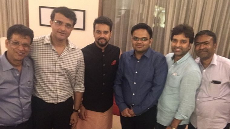 The new BCCI team: Sourav Ganguly shares picture with Jay Shah and Co, thanks Anurag Thakur