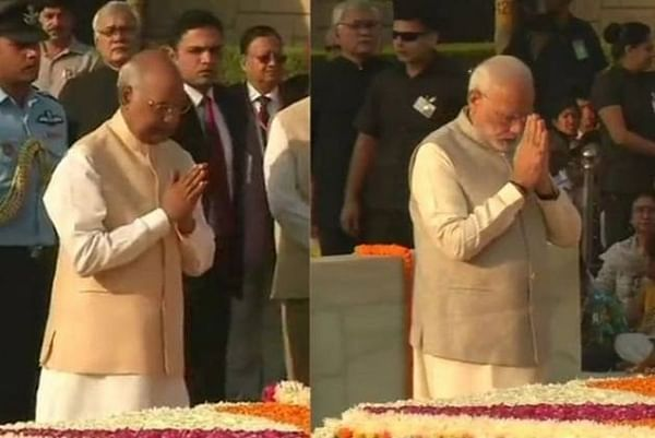 President Kovind, PM Modi pay homage to Mahatma Gandhi on his 150th birth anniversary