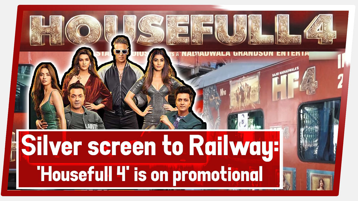 Silver Screen To Railway: 'Housefull 4' Is On Promotional 'Tracks'
