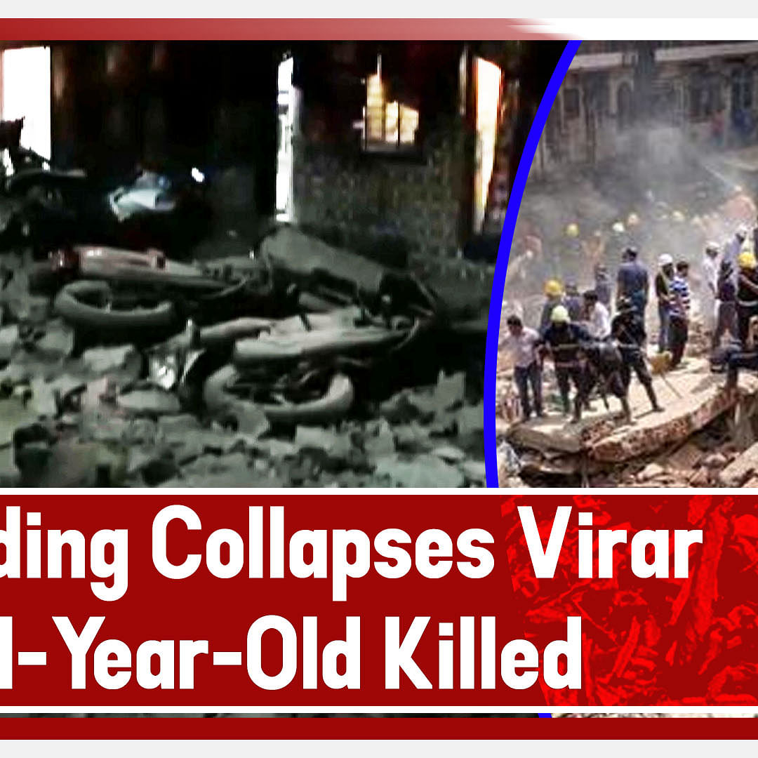 Four-Storey Building Collapses In Maharashtra's Virar, 4-Year-Old Killed, Several Injured