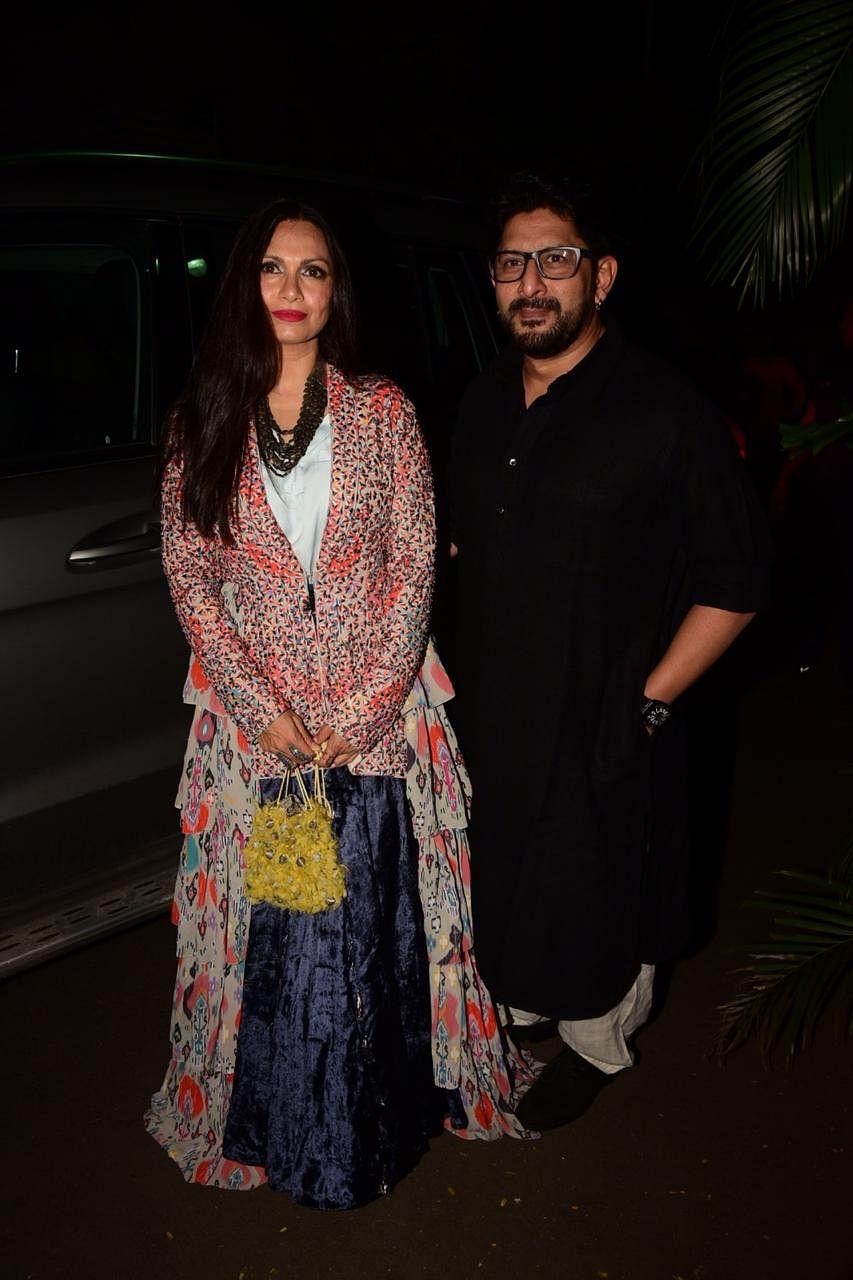 Arshad Warsi with Maria Goretti