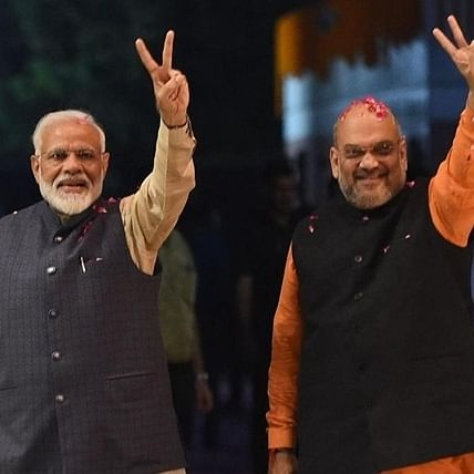 'An experienced, skilled leader': PM Narendra Modi wishes Amit Shah on his 55th birthday