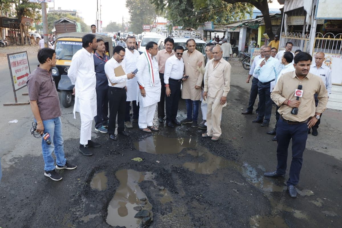Bhopal: Minister compares Bhopal's roads with cheeks of Kailash Vijayvargiya & Hema Malini