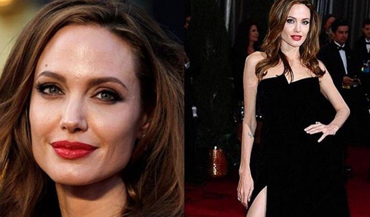 Angelina Jolie addresses meme-making on her 2012 Oscars black Versace dress