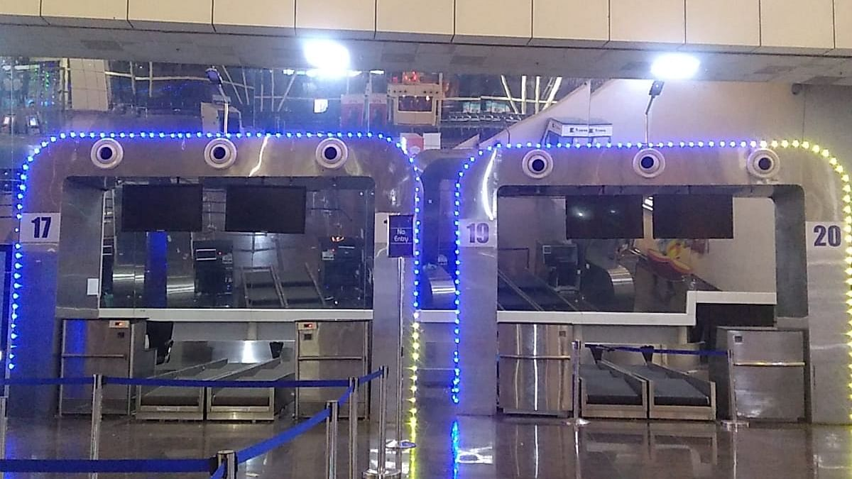 Indore: Two additional check-in counters set up at airport