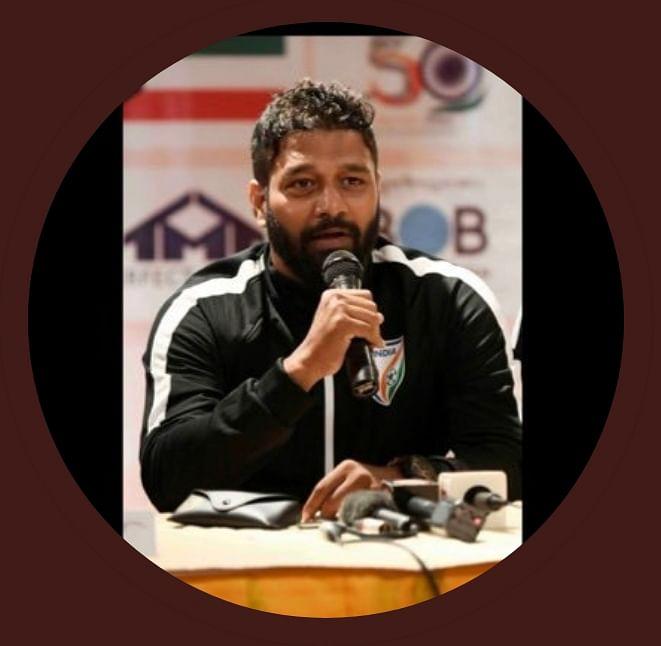 India U-15 women's team coach Alex Ambrose