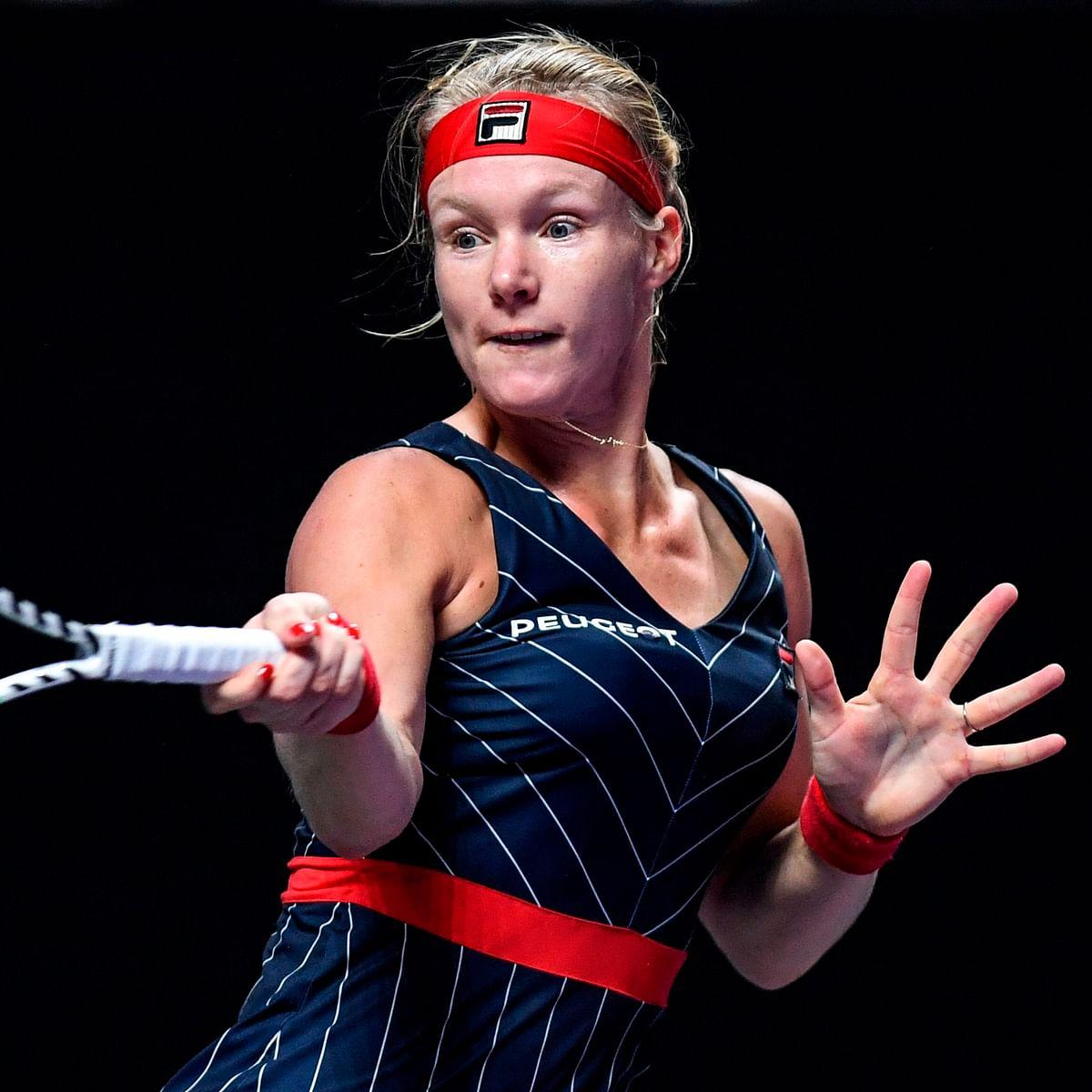 WTAFINALS: Kiki Bertens stuns Ashleigh Barty