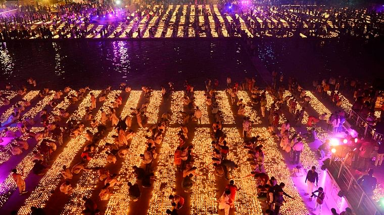 Ayodhya's Deepotsav finds place in Guinness World Records