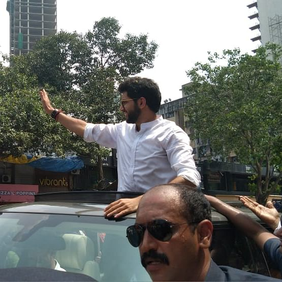 Opposition parties slam Shiv Sena, BJP for 'slaughter' of trees in Aarey