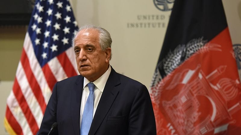 US envoy underscores economic, security benefits of Afghan peace during talks with Pakistan leaders