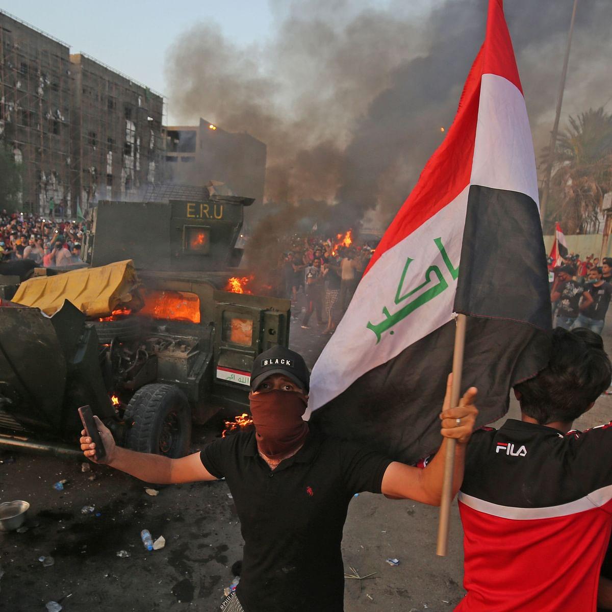 Anti-government protests in Iraq kills 18