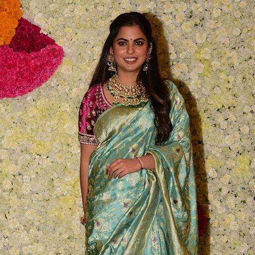 Steal Isha Ambani's royal saree look for a fashion upgrade this Diwali
