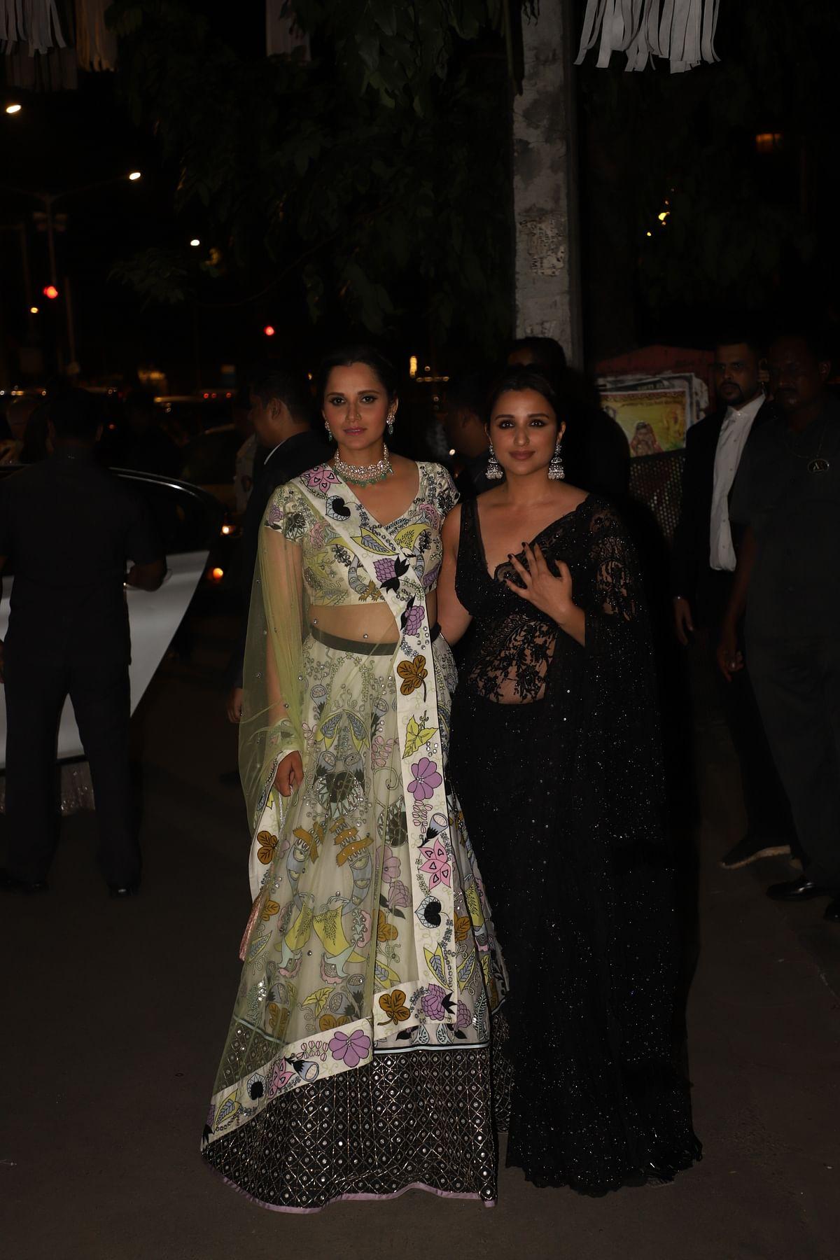 Parineeti Chopra with Sania Mirza