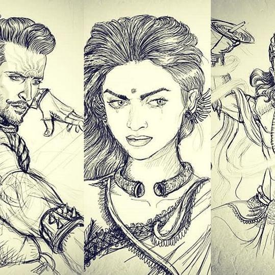 Deepika as Draupadi, Aamir as Krishna, Hrithik as Karna: Is this the complete cast of 'Mahabharat'?