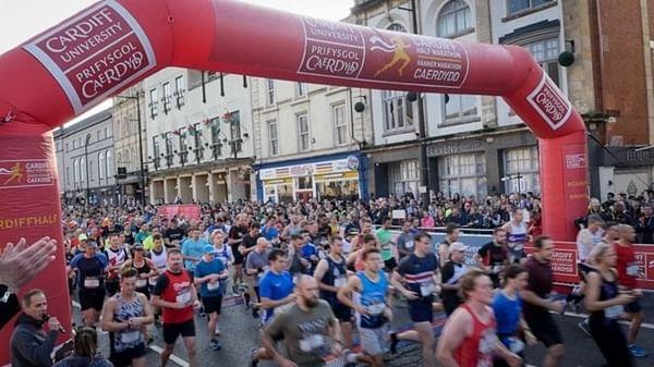 Runner dies after taking part in Cardiff Marathon