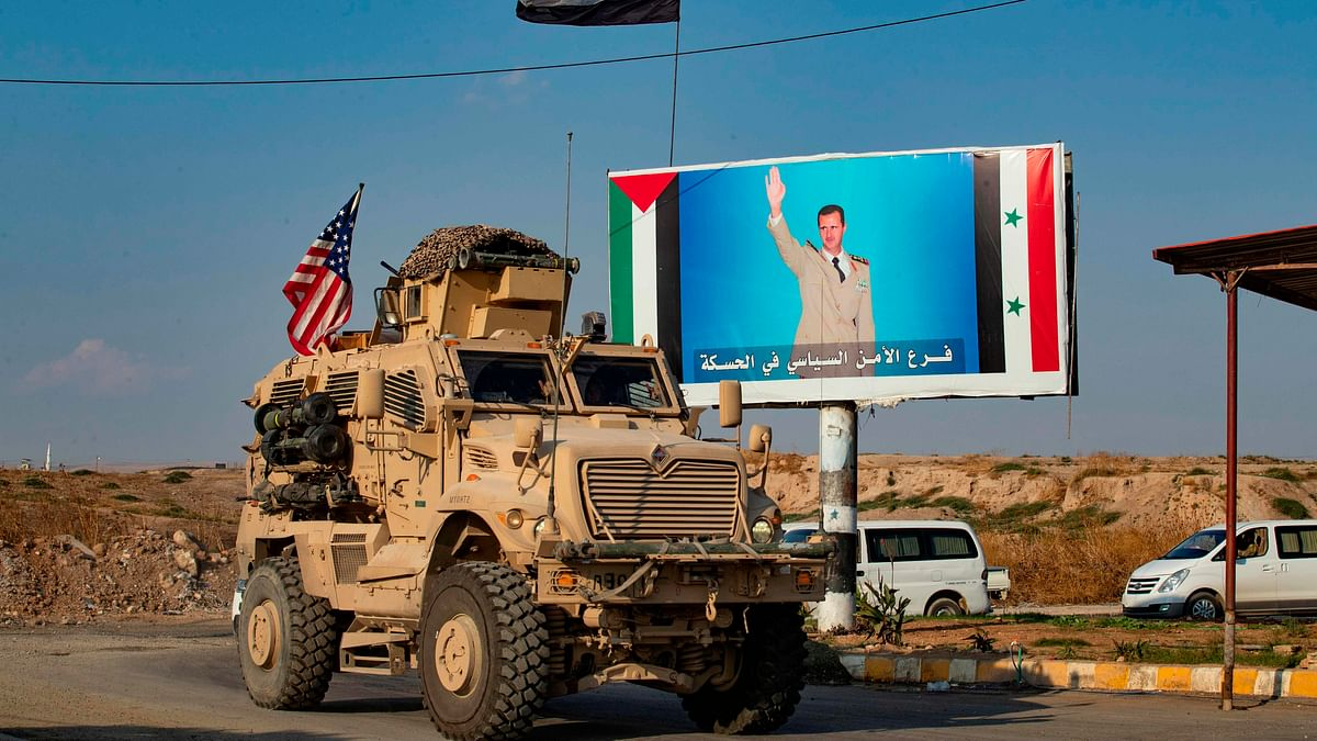 US troops, armoured vehicles going to Syria oil fields