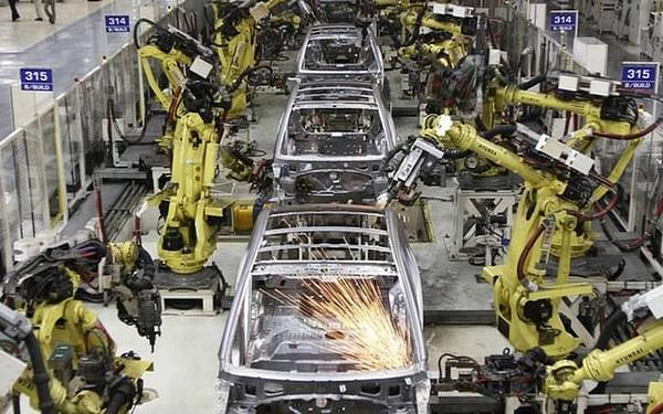 India manufacturing PMI at 56.8 in September, up from 52 in August