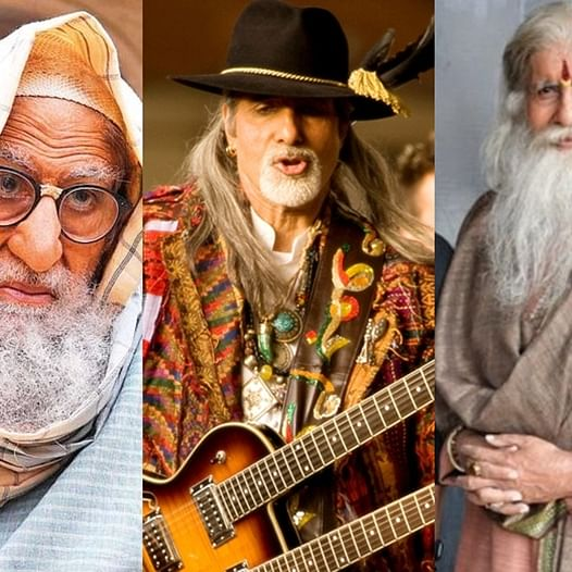 10 times Amitabh Bachchan knocked us over with his insane transformations