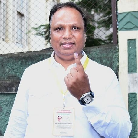 Maha Election 2019: Why did Ashish Shelar delete picture of himself voting?