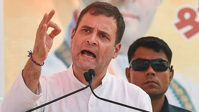 Given up already? Rahul shares video of BJP MLA to insinuate EVM tampering