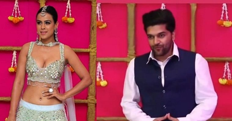 Watch Nia Sharma groove with Guru Randhawa on 'Suit Suit Karda'