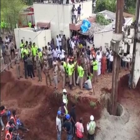 Borewell that claimed Sujith Wilson's life gets sealed