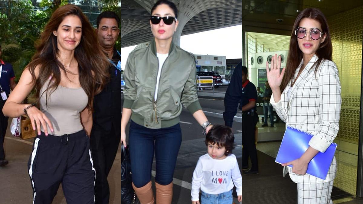 Disha Patani, Kareena Kapoor transforming airports into runways