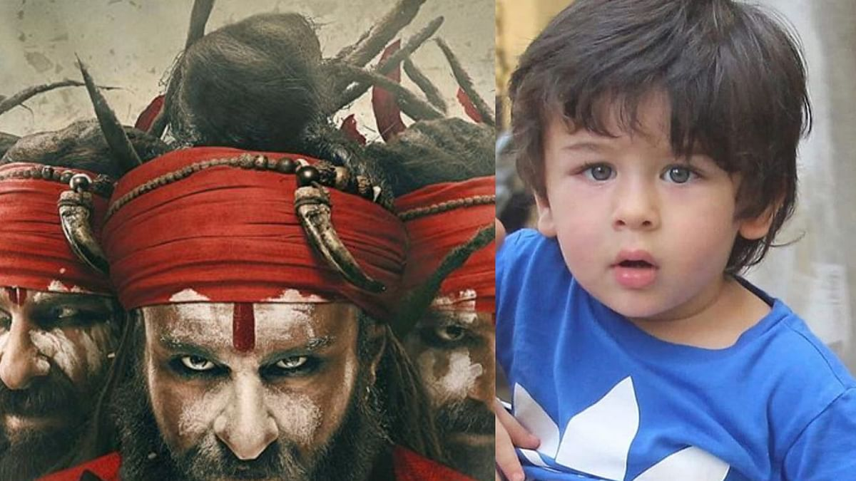 Saif Ali Khan reveals Taimur's reaction after watching Laal Kaptaan's trailer