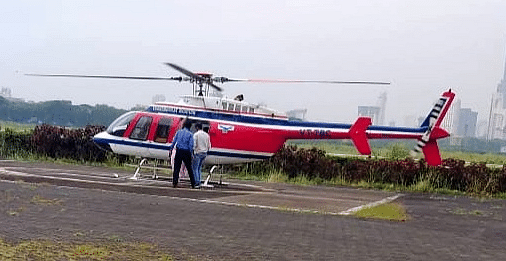 EC flying squad checks NCP MP Supriya Sule's helicopter, finds nothing
