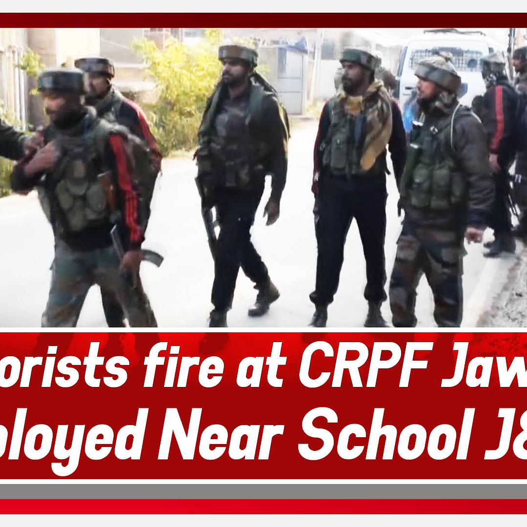 Pulwama: Terrorists Fire At CRPF Jawan's Deployed Near School J&K