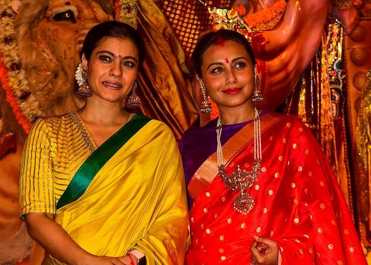 Kajol with Rani Mukerji