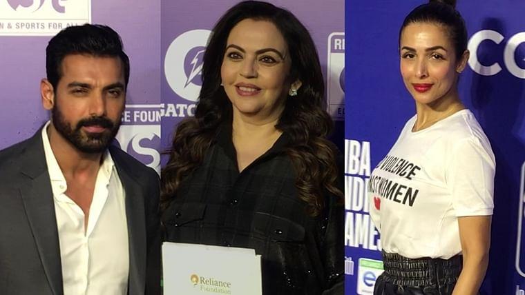 John Abraham to Nita Ambani, celebs dazzle on NBA India Games red carpet