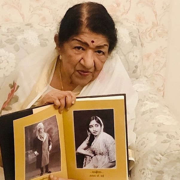 'Music Legend' Lata Mangeshkar joins Instagram after 90th birthday