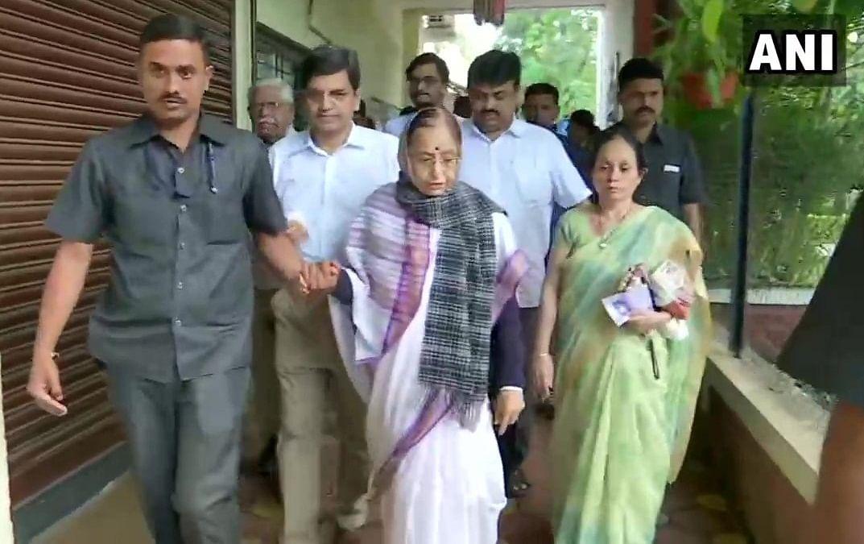 Former President Prathibha Patil