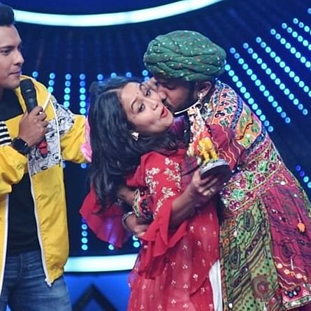 Video: Neha Kakkar forcibly kissed by contestant on 'Indian Idol 11'