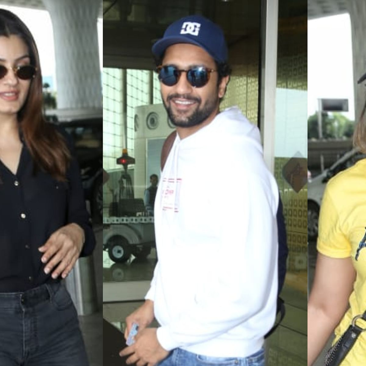 Have you seen these pics of Ileana D'cruz, Vicky Kaushal, Raveena Tondon and other Bollywood celebs?