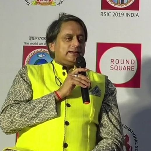 'We can't talk to Pakistan if they have guns in one hand and bombs in other': Shashi Tharoor on Kashmir issue