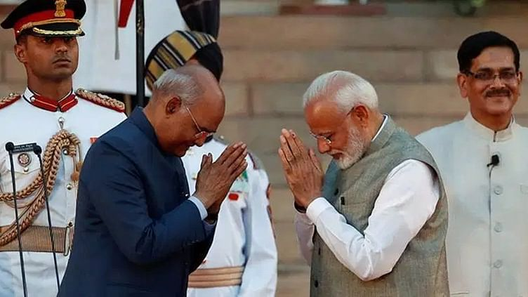 President Ram Nath Kovind, PM Narendra Modi extend greetings on Durga Ashtami
