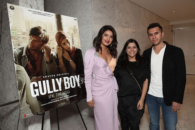In support of Gully Boy, Priyanka Chopra hosts special screening