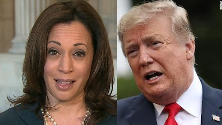 Won't suspend Trump's account, Twitter tells Kamala Harris