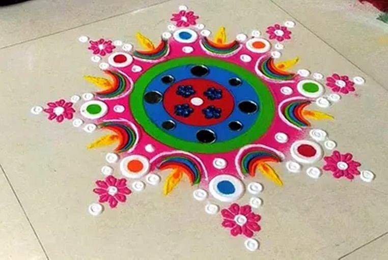 Diwali 2019: Easy-to-create rangoli designs that will boost your Diwali celebrations!