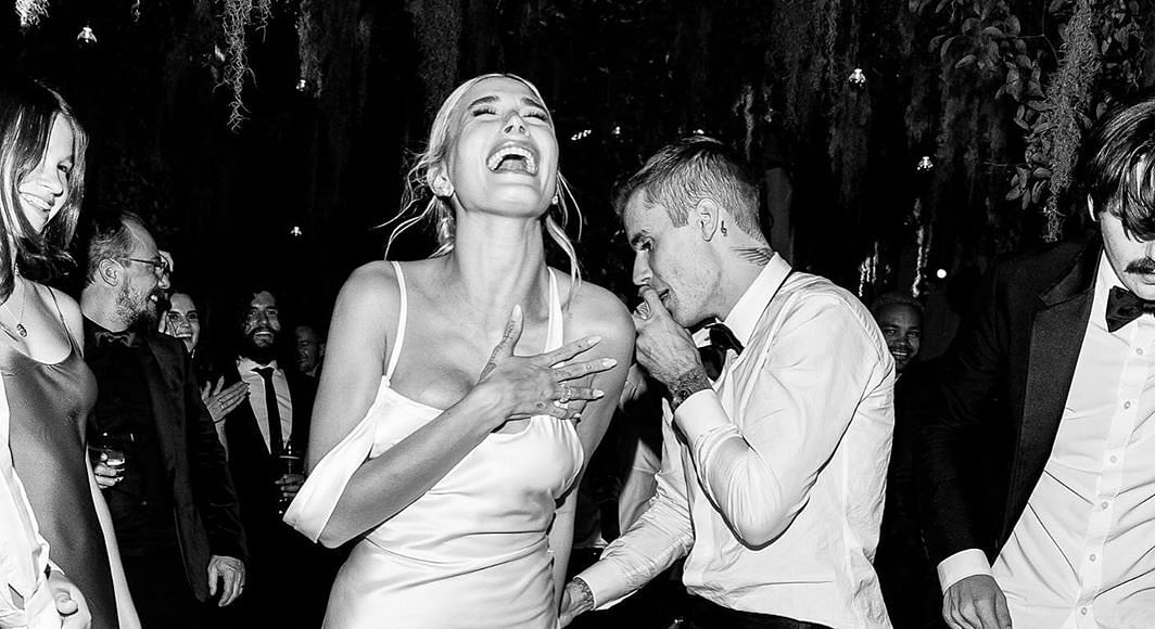 Comfort before style: Hailey Baldwin rocks her wedding with sneakers