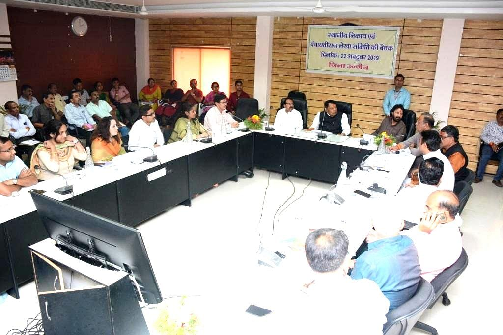 Ujjain: Accounts committee members hold meeting