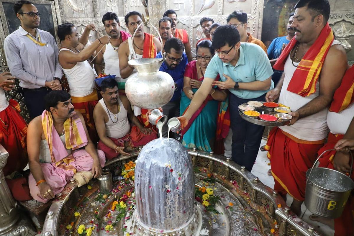 Ujjain: MTMC prays' Mahakal for prosperity, wellbeing