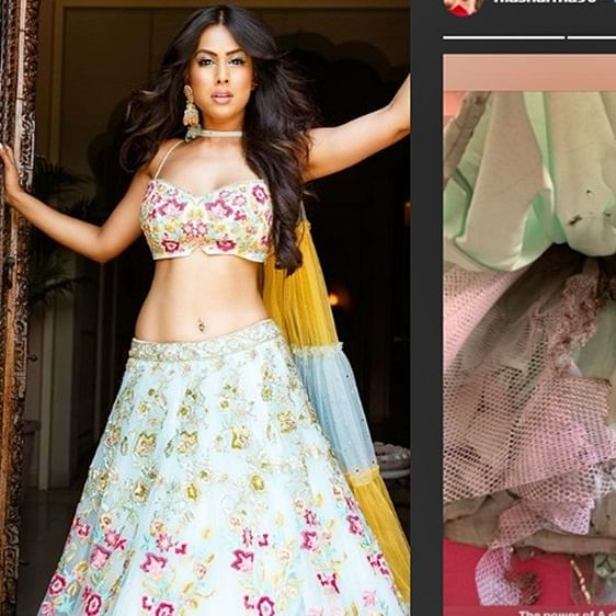 Nia Sharma is so hot that her outfit caught fire during Diwali celebrations